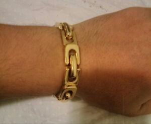 bracelet en or 14 k/585 d italie