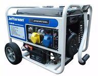JEFFERSON PETROL GENERATOR 3.0KW LIKE NEW!! ELECTRIC START. BARGAINNo makita bosch drill compressor