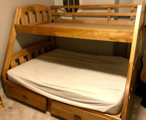 Solid Maple Bunk Bed