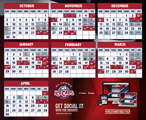 ICECAPS Tickets in March  - 2 Tickets & parking $65