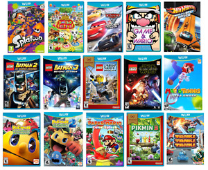 Looking for / Recherche Wii U Games