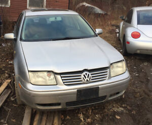 2000 silver Jetta for parts