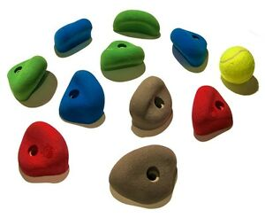 looking for plastic rock climbing pieces from old kids swing set