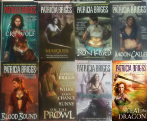 Fantasy fiction novels, Historical, Urban - Various authors