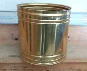 Large Brass Planter Pot Decorative Indoor Outdoor use   London Ontario image 1