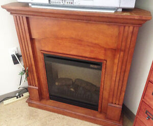 Dimplex Corner Cherry Electric Fireplace with remote