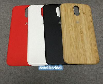 Original Battery Back Door Case Cover For Motorola Moto G4/G4 Plus XT1644 XT1622 Case Cover Battery Door