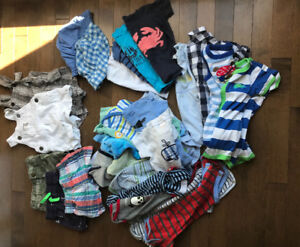 0-3 Month Boys Summer Clothes