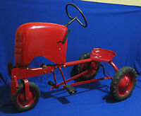 Very Rare- Antique 1940's Farmall Childs Pedal Tractor-Restored