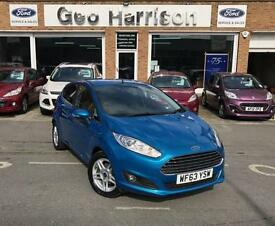 Ford Fiesta 1.0 100ps EcoBoost Zetec - JUST 13,300 MILES!