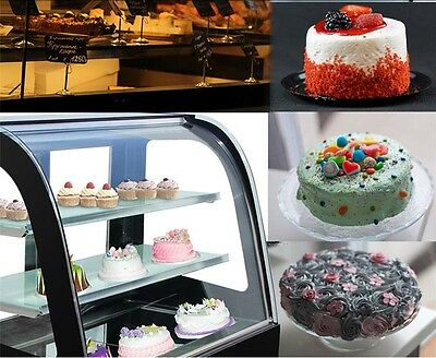 Countertop Cake Show Case Commercial Refrigerated Pie Display Cabinet 220v New