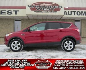 2013 Ford Escape SE 2.0L AWD, HEATED SEATS, MB, GREAT COLOR!