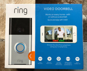 Ring Video Doorbell BRAND NEW