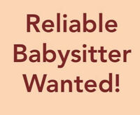 Babysitter/child care available!
