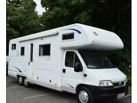 BURSTNER A 747-2 DOUBLE FLOOR MOTORHOME