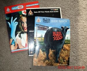 3 - Blink 182 Music Books - Tab