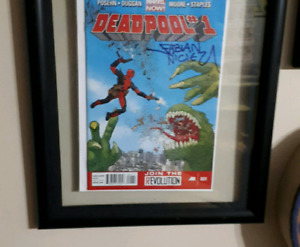 Deadpool marvel now 1 signed by fabian