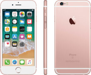 Iphone 6S 32gb - UNLOCKED - Rose Gold and Space Gray colors