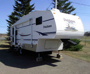Roulotte, Fifthwheel Camper