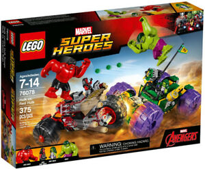 Lego Super Heroes 76078 Hulk vs Red Hulk Neuf