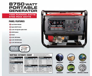 Selling a Lot of Gasoline Powered Generators