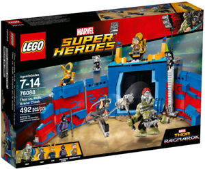 SAVE $15 Lego 76088 Thor Ragnarok vs Gladiator Hulk New