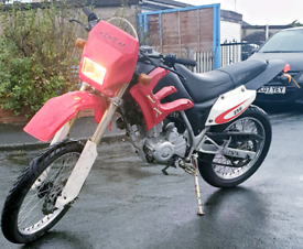 56/07 bashan VX250-vixen Road legal crosser