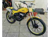 SWM TL320 1981 Classic Twin Shock Trials 250cc Many Professional Modifications