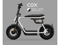 CooPop Cox Trendy Urban Electric Motorbike Scooter Moped Motorcycle