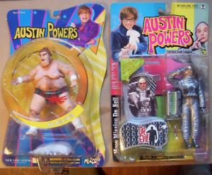 2002 Mcfarlane Austin Powers action figures BNIB