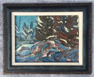 Arthur Lloy Oil Painting 9x12