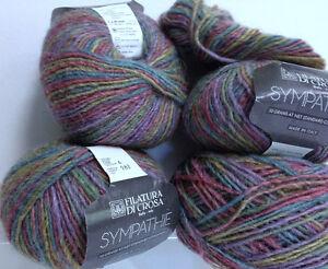 Vintage Wool Yarn Sympthie Filatura Di Crosa Yarn Made in Italy