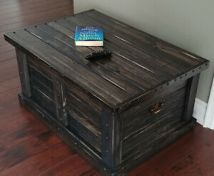 ONLY  $ 199 !  Solid Pine Chest Table !