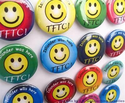TTF Buttons für Geocaching Erstfinder Geocache auslegen Tausch STF 3er Set FTF