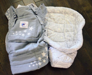 Ergobaby Carrier Galaxy Grey with Infant Insert
