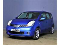 2008 Nissan Note 1.6 Automatic Acenta *(New MOT)* Part Exchange OK . ULEZ Free M