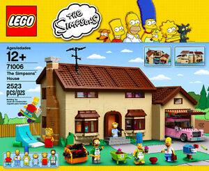 BRAND NEW LEGO The Simpsons House