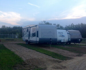 RV storage lot rentals