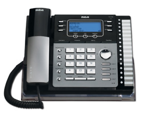 RCA 25424RE1 4-Line Expandable Busine Phone with Call Waiting/Ca