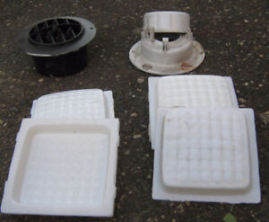 Motorhome / Rv  Vents and  5 inch light covers , License  plate