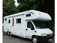 2005 BURSTNER A 747-2 DOUBLE FLOOR, MOTORHOME