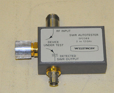Wiltron Sp2369 Swr Autotester Sp2369