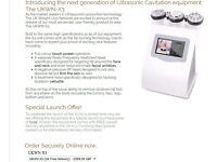 **ULTRASONIC CAVITATION machine LIKE NEW** save £££