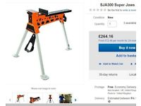 New Jawhorse Superjaws sja300 Jawzilla portable clamping system workbench Heavy duty model