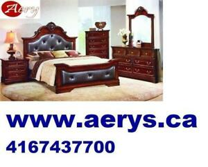 WHOLESALE FURNITURE WAREHOUSE  LOWEST PRICE GUARANTEED WWW.AERYS.CA bed only starts from $129--- call 416-743-7700