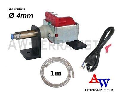 Druckpumpe für Beregnungsanlage Terrarium - mit Ständer - Anschluss Ø 4mm