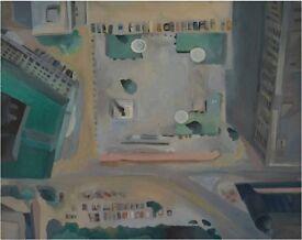 Union Square -Oil on Canvas