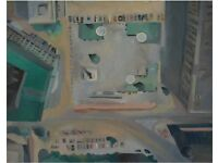 Union Square -Oil on Canvas