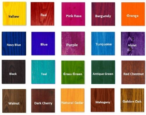 Water Based Wood Stain for Woodworking DIY Decoupage and wood Craft 120ml