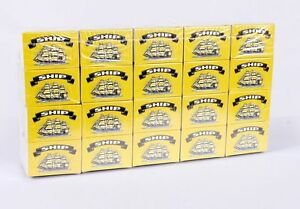 100 Boxes of SHIP Safety Matches- BRAND NEW